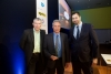 Pictured left to right: Oliver Stohlmann, VP Global R&D Communications, Barry Springer, VP of Strategy, Innovation and Research for Biotherapeutics, and Paul Simms, Chairman, eyeforpharma